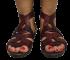 Sandália Dudaiá 17606 Gladiadora 2