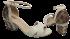 Sandália Marlinês 4053 Salto Bloco 4