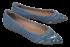 Sapatilha Bico Fino Valentina 375101 Jeans 2