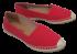 Sapato Feminino Espadrille Vermelho Valentina 390550 2