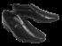 Sapato Masculino Jota Pê Couro Preto 13122 Air Bag 2