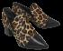 Sapato Feminino Bico Fino Cristófoli 196143 Animal Print 2
