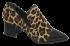 Sapato Feminino Bico Fino Cristófoli 196143 Animal Print