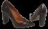 Sapato Scarpin Cristófoli 166440 Croco Café 4