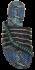 Chinelo Rasteirinha Tanara N7564 Pedras 3