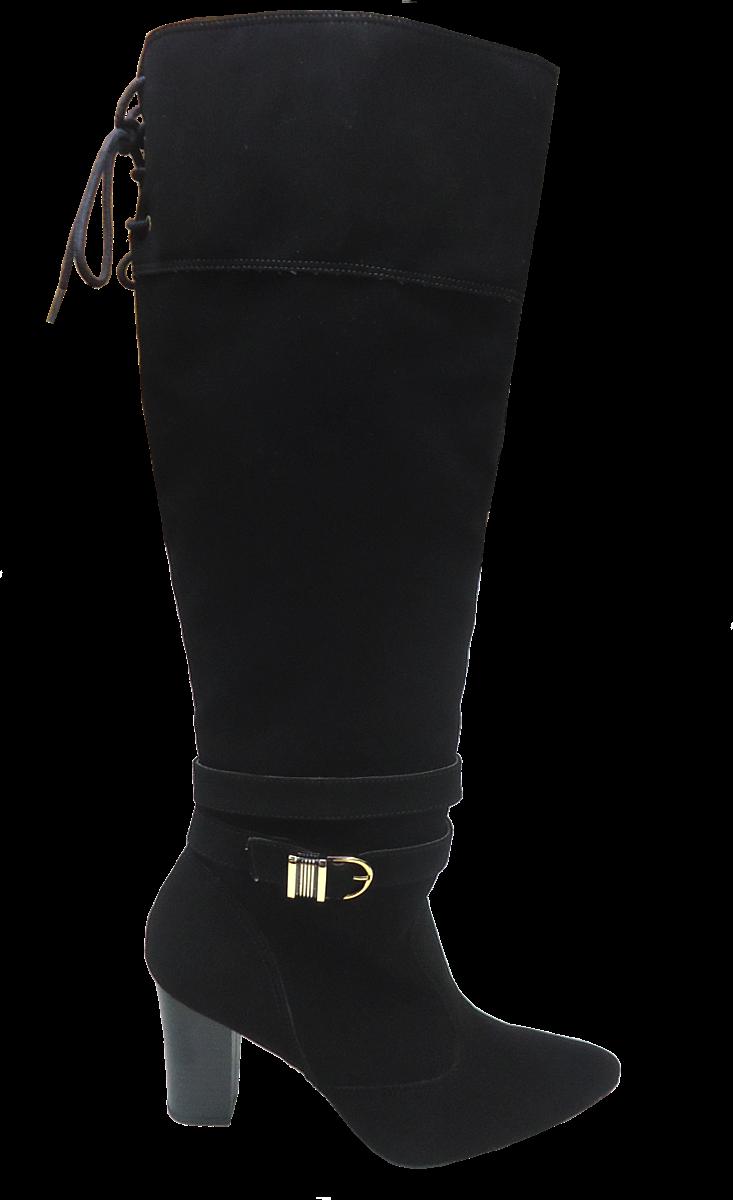 e44f51f9a Bota Cano Longo Over Knee Numeração Especial Anaflex 183021A. Seja o  primeiro a avaliar! 0 0. Passe ...