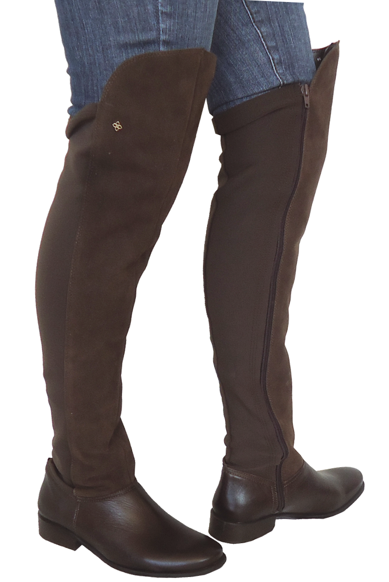 26d020e52 Bota Longa Acima do Joelho Perlatto F421 | Dtalhe Calçados