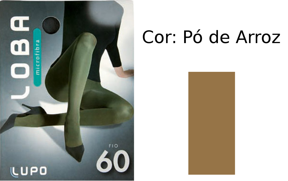576505d30 Meia Calça Lupo Microfibra Fio 60 5825