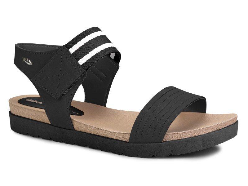 59fe929df Sandália Feminina Dakota Z3942 Preta | Dtalhe Calçados