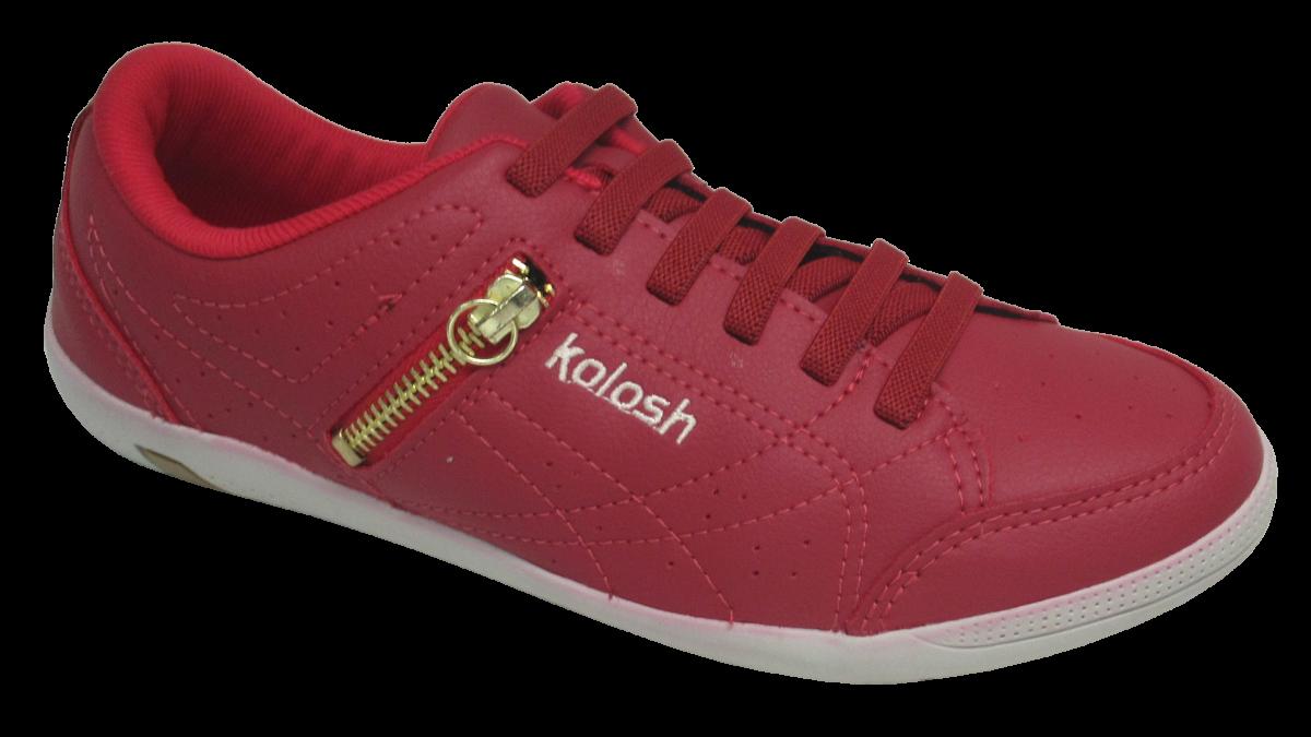 2f39e46ff Sapatênis Feminino Kolosh C0413 Vermelho | Dtalhe Calçados