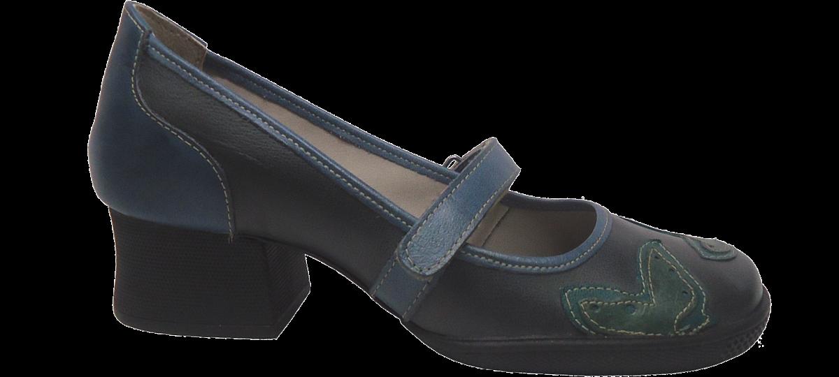 1dd17df64 Sapato Boneca Salto Medio JGean 624AM | Dtalhe Calçados