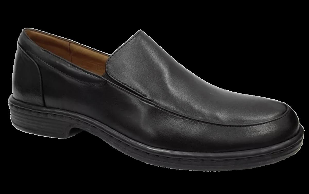 382251e28 Sapato Masculino Antistress Opananken 69507 Couro | Dtalhe