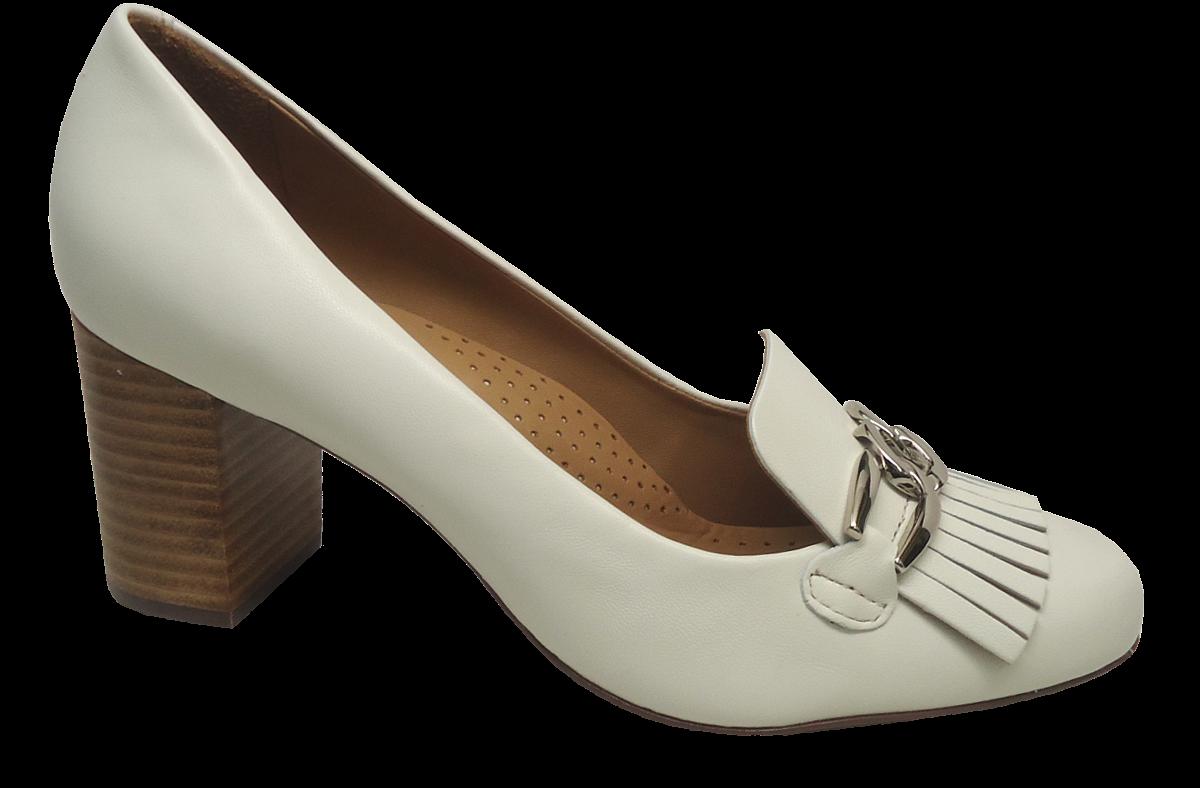 59841b231 Sapato Scarpin Conforto Feminino Wirth 15719 Couro | Dtalhe