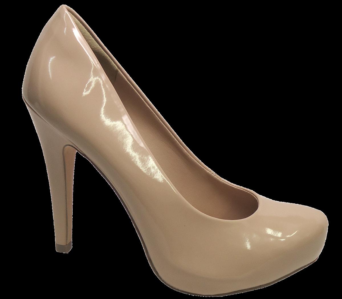 53bc04752 Sapato Scarpin Tanara T0161 Meia pata Nude | Dtalhe Calçados