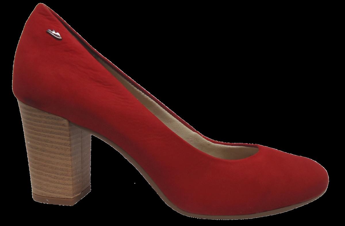 e469af891 Sapato Scarpin Dakota B7931 Vermelho | Dtalhe Calçados