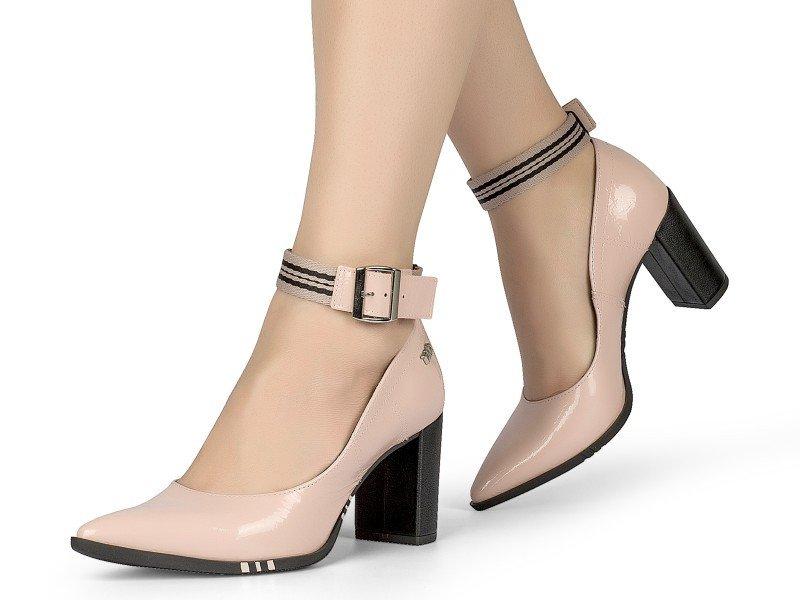 c70fa7b1f Sapato Feminino Tanara T3323 Nude Bico Fino | Dtalhe Calçados