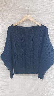 Imagem - Blusa Tricot Com Detalhe em Trança