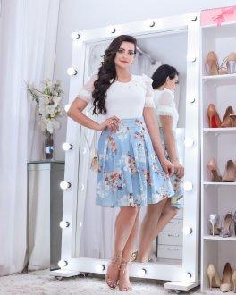 Imagem - Body Maria Amore com Tule Germana