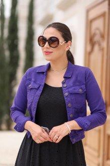 Imagem - Jaqueta Fagian Jeans Colorida