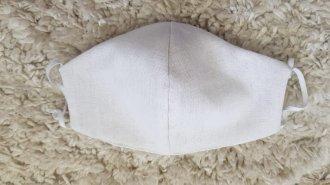 Imagem - Mascara de Proteção em Linho com Tecido Duplo