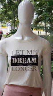 Imagem - T-Shirt Blessing Off White Let Me Dream