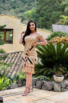 Imagem - Vestido Feminine Malha Premium