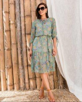 Imagem - Vestido Gioconda Portto em Chifon