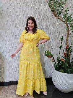 Imagem - Vestido Help Chic Analu Estampado