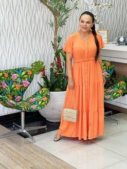 Imagem - Vestido Help Chic Luh Martins Liso