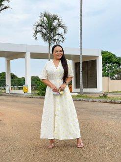 Imagem - Vestido Help Chic Preta Paula