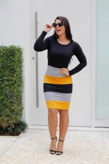 Imagem - Vestido Malha Nayla