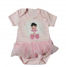 Imagem - Body Bebê Bailarina com Saia cód: 311bars