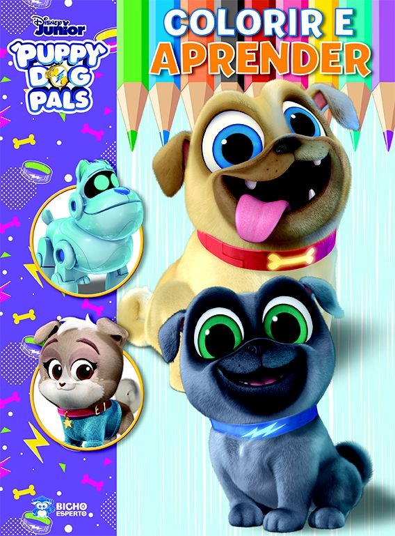 Colorir e Aprender Disney - Bingo e Rolly