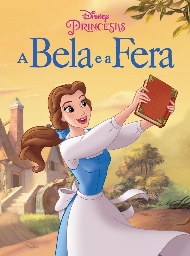 Mini Livro da Disney - A Bela e a Fera