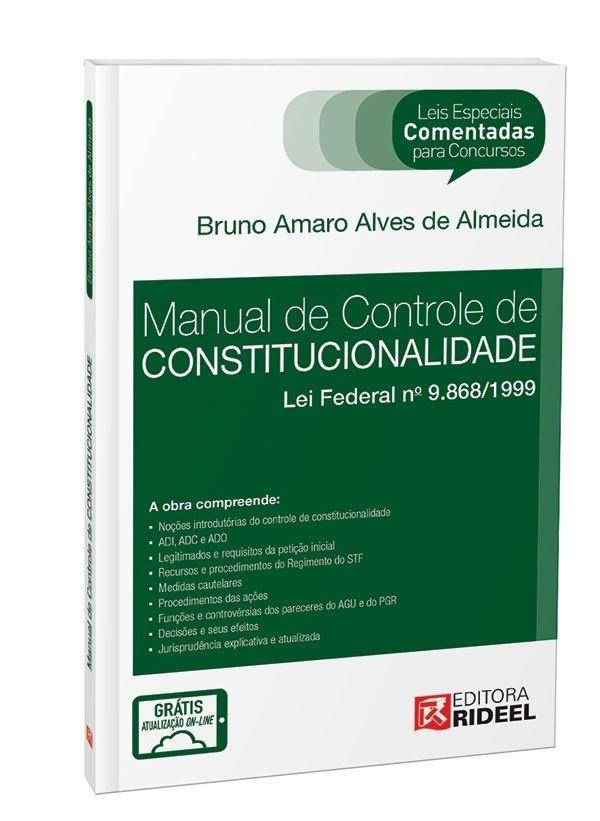 Leis Especiais Comentadas - Controle de Constitucionalidade
