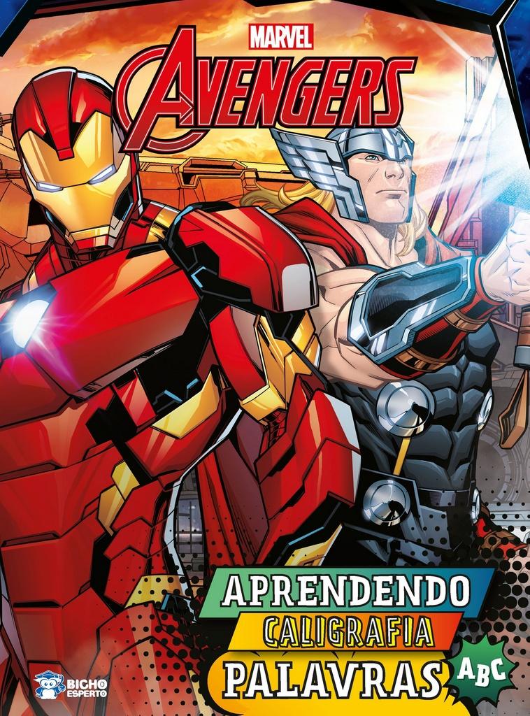 Aprendendo Caligrafia Marvel - Palavras