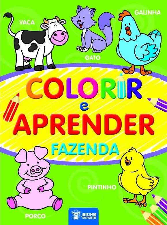 Colorir e Aprender - Fazenda