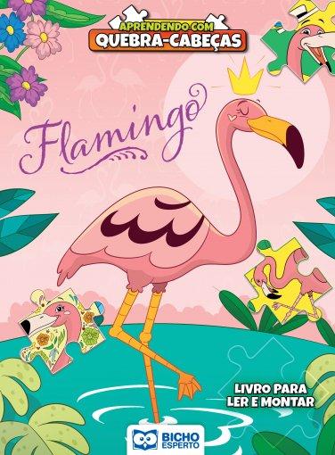 Aprendendo com Quebra-Cabeça - Flamingo