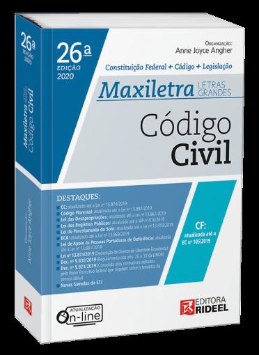 Código Civil - MAXILETRA - Constituição Federal + Código + Legislação