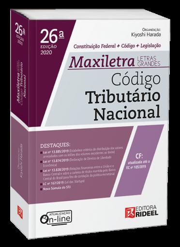 Código Tributário Nacional - MAXILETRA - Constituição Federal + Código + Legislação