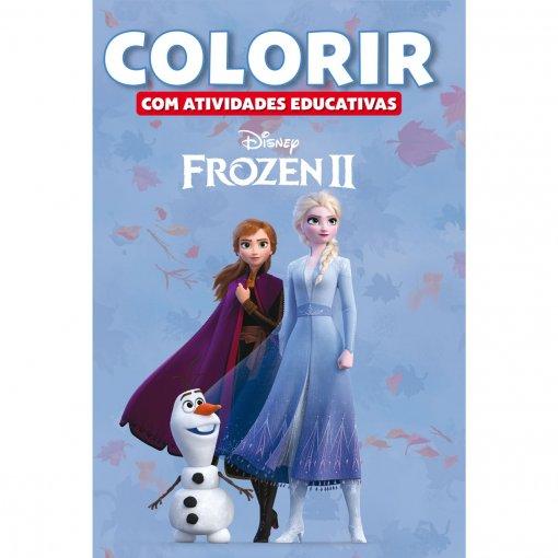 Colorir Atividades Educativas Disney - Frozen 2