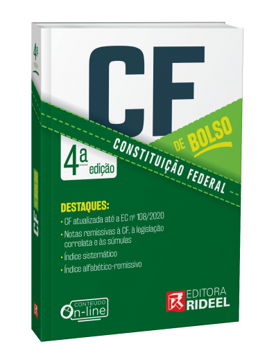 Constituição Federal - CF de bolso - 4ª edição