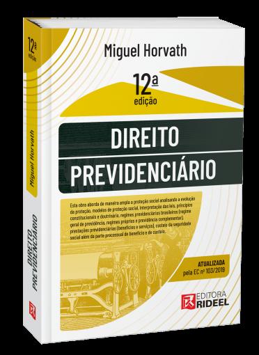 Direito Previdenciário 12ª edição