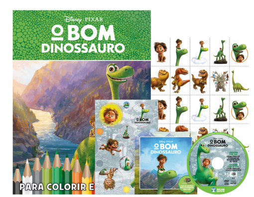 Disney Kit 5 em 1 com DVD - O Bom Dinossauro