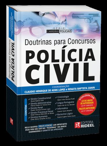 Doutrinas para Concursos Polícia Civil - 1ª edição