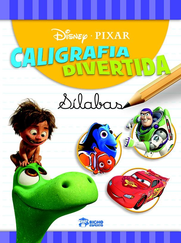 Caligrafia Divertida Disney - Sílabas