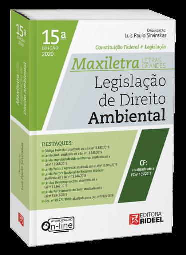 Legislação de Direito Ambiental - MAXILETRA - Constituição Federal + Legislação