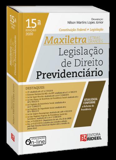 Legislação de Direito Previdenciário - MAXILETRA - Constituição Federal + Legislação