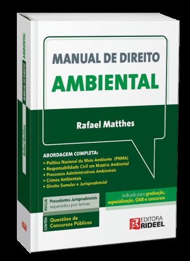 Manual de Direito Ambiental - 1ª edição