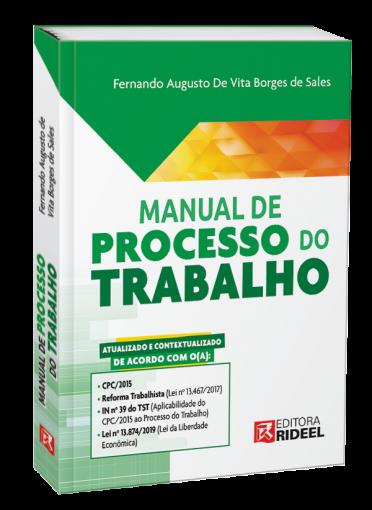 Manual de Processo do Trabalho - 1ª edição